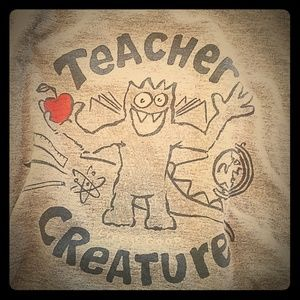 "Life Is Good ""Teacher Creature"" T-Shirt"
